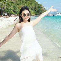 Thai Girl Maya Bay